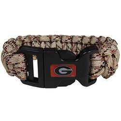 Georgia Bulldogs Camo Survivor Bracelet (F)