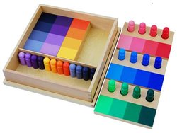 Kid Advance Montessori Color Resemblance Sorting Task