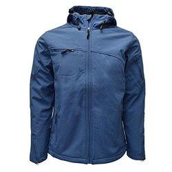Reebok Men's Huron Softshell Jacket Slate Blue: XXL