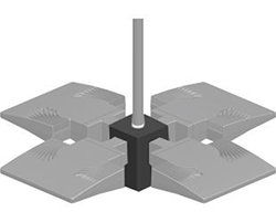 RAB Lighting Pendant 4X Adaptor 1/2 Nps - Bronze