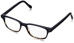 A.J. Morgan Nottingham-Power 1.00 69114 Rectangular Readers, Dark Blue/Tortoise, 1