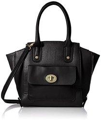 MG Collection Mini Tote Bag - Black