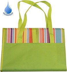 "Picnic Blanket Outdoor Mat 79"" x 57"" Waterproof - Multi - Sz: Large"