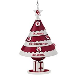 NCAA Oklahoma Sooners Tree Bell Ornament