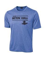NCAA Unisex Seton Hall Pirates University Tech T-Shirt - Royal - XX-Large