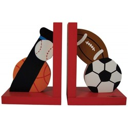 Tatutina Hand painted Bookends - Sports