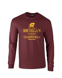 SDI NCAA Central Michigan Chippewas Men's T-Shirt - Maroon - Size: XXL
