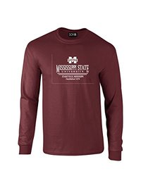 NCAA Mississippi State Bulldogs Classic Seal T-Shirt - Maroon - Large