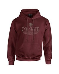 NCAA Colgate Raiders Classic Seal Long Sleeve Hoodie, Small, Maroon