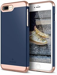 Caseology Savoy Series Case for iPhone 7 Plus - Rose Gold/Blue