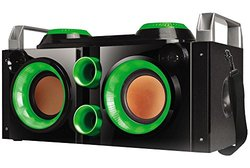 Portable Bluetooth Party Pa System / Boombox With Strap Pbx-505200bt-grn