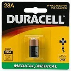 Duracell Medical Battery Photo 6 V Model No. 28 A