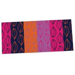 Kess in House Anneline Sophia Pink Orange Office Desk Mat - 13x22-inch
