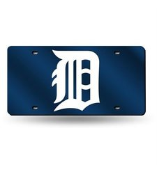 Rico Detroit Tigers MLB Laser Cut License Plate Cover