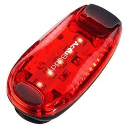 AccuBuddy LED Safety Light - Clip On Running & Bike Tail Light for higher Visibility in Road Traffic