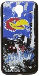 GD NCAA Kansas Jayhawks Paulson Designs Spirit Case for Galaxy S4 - Black