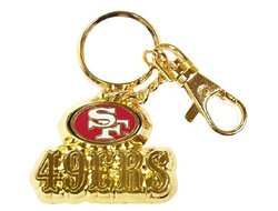 San Francisco 49ers Team Logo Heavyweight Keyring