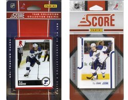 NHL St. Louis Blues Licensed Score 2 Team Sets