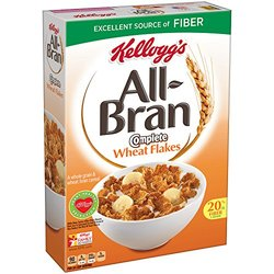 Kellogg's All-Bran wheat bran cereal - 18-Ounce Boxes - Pack of 2