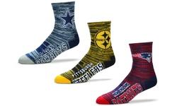 NFL New York Unisex Giants Motion Stripe Crew Socks - Size: Large