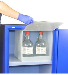 Scientific Materials Polypropylene Nitric Acid Compartment - Natural