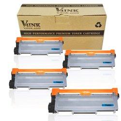 V4ink New Compatible TN630 Toner Cartridge for Brother 4 Pck - Black