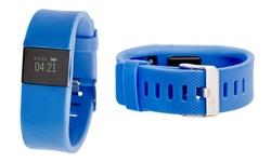 Everlast TR8 Smart Bluetooth Activity Tracker w/ Heart Rate Monitor - Navy