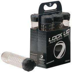 Dye Precision Locklid 160 Round Paintball Pod 6-Pack - Smoke