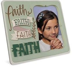 """Angelstar 74072 Faith Artisan Frame, 8-1/4 by 7-1/4"""""""
