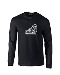NCAA Coastal Carolina Chanticleers Mascot Foil Long Sleeve T-Shirt, X-Large, Black