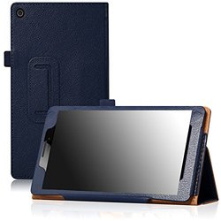 "Famavala PU Leather Tablet Case for 7"" Lenovo Tab 2 - Blue"