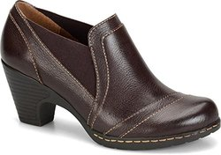 Eurosoft Tami Mahogany Leather Shoes: 7.5
