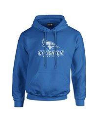 NCAA Creighton Bluejays Mascot Foil Long Sleeve Hoodie, XX-Large, Royal