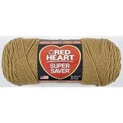 Red Heart Super Saver knitting Yarn - Cherry Red