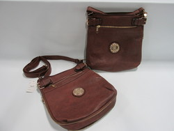Women's Zip-Flap Expandable Crossbody Messenger Purse - Coffee