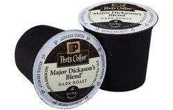 Peet's Coffee French Roast Dark Roast Coffee K-Cup - 0.43Oz - 16 count