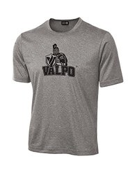 NCAA Valparaiso Crusaders School Standard Mascot Tech Performance T-Shirt, XX-Large, Sport Grey