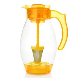 Cook's Companion 4-in-1 Chill Filter & Infuse 3qt Tritan Pitcher - Yellow