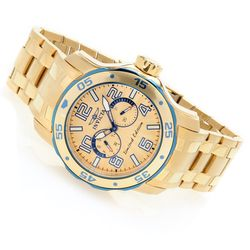 Invicta Men's Scuba Voyager Limited Edition Bracelet Watch - Goldtone