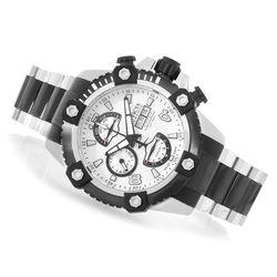Invicta Men's 48mm Octane Swiss Valjoux Bracelet Watch - Silver/Silver