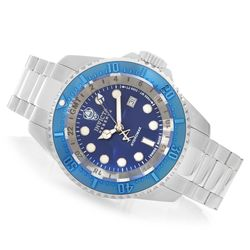Invicta Men's 52mm Hydromax Bracelet Watch w/ Eight-Slot Dive Case - Blue
