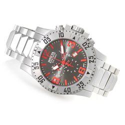 Invicta Reserve Men's Excursion Quartz Chronograph Strap Watch - Gunmetal