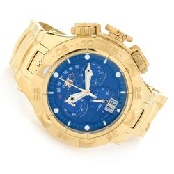 Invicta 50mm Subaqua Noma V Swiss Made Quartz Bracelet Watch - Blue