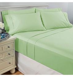 North Shore Living 6pcs 950TC Egyptian Cotton Sheet Set - Sage - Cal. King