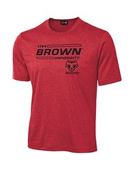 NCAA Brown Bears University Tech Performance T-Shirt, Large, Red