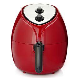 Cook's Companion 1700W 5.8 qt High Speed Air Fryer - Merlot