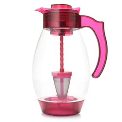 Cook's Companion 4-in-1 Chill Filter & Infuse 3qt Tritan Pitcher - Sangria