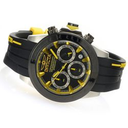 Invicta Men's 40mm Speedway Quartz Chronograph SS Silicone Strap Watch
