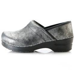 "Sanita ""Margo"" Women's Leather Closed Back Clogs - Black - Sz: 41 (US 10)"