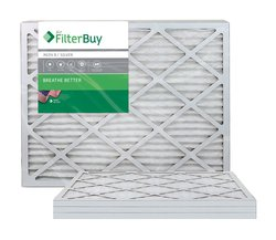 Filter Air Filter Pleated Merv 8 HVAC Filters Box of 4 - Size: 20x30x1
